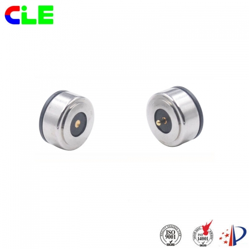 Customized magnetic connector with LED