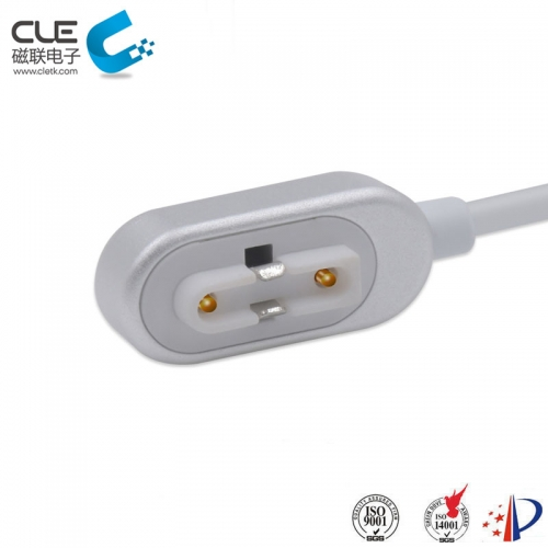 2Pin magnetic pogo pin connector with usb cable