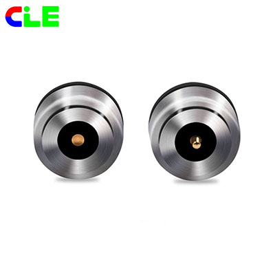 CLE professional explain what is the magnetic connector for customers