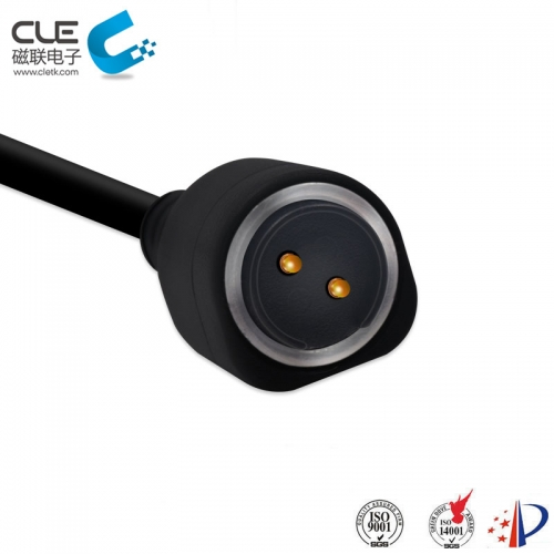 CLE 2Pin magnetic pogo pin usb connector for smart watch