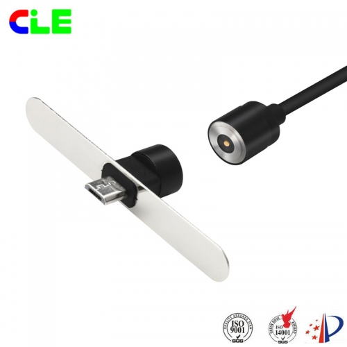 Customized tablet computer male and female magnetic usb charging cable